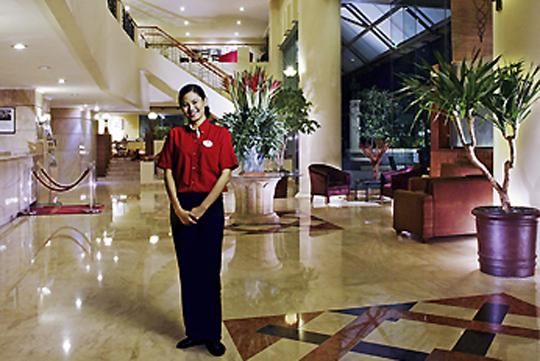 ホテル イビス・ジャカルタ・タマリン ロビー