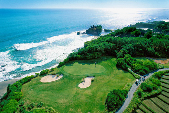 パンパシフィック・ニルワナ・バリ・リゾート ゴルフコース