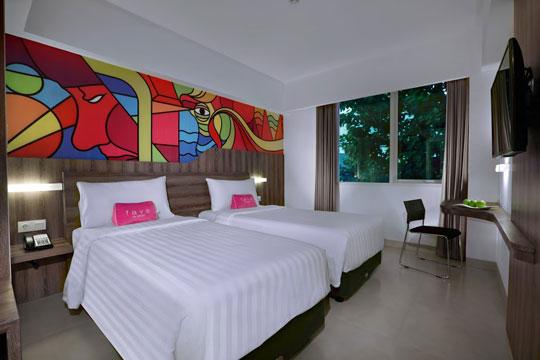 フェイブホテル ・クタ・カルティカプラザ お部屋一例