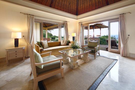 ザ・ヴィラズ・アット・アヤナ・リゾート・バリ 2ベッドルームオーシャンフロントヴィラ