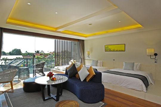 ウォーターマークホテル & スパ バリ ジンバラン スイートルーム