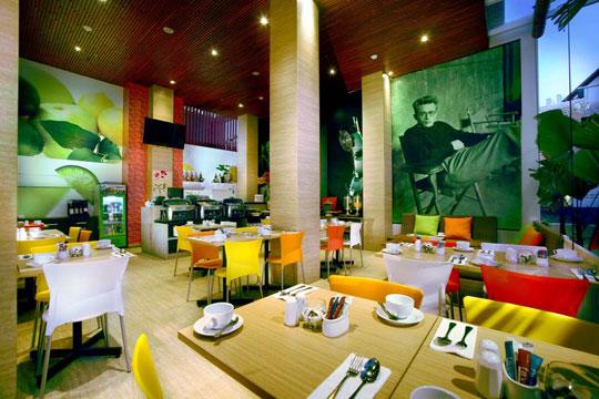 フェイブホテル・クタ・スクエア ライムレストラン