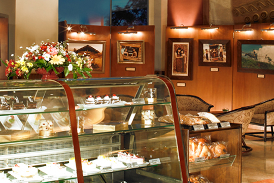 ミレニアム ホテル シリ ジャカルタ アート&ベーカリー(ケーキ・コーヒー・紅茶)