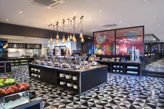 ハード ロック ホテル Starz Diner(インターナショナル料理)