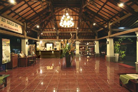 アディダルマ・ホテル ロビー