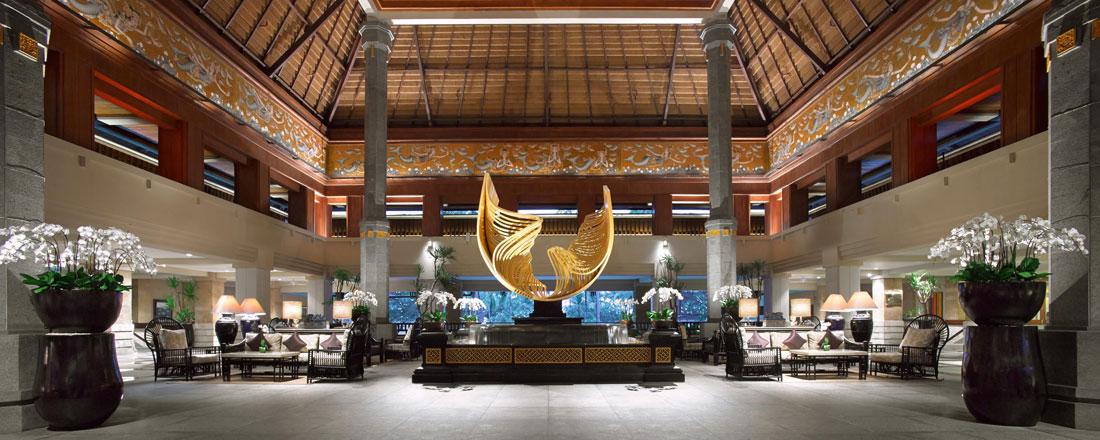 インターコンチネンタル バリ リゾート エントランス