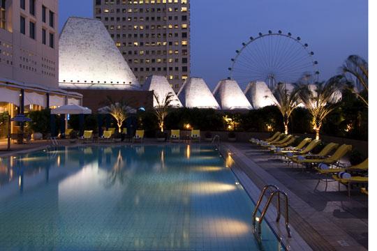 コンラッド センテニアル シンガポール プール