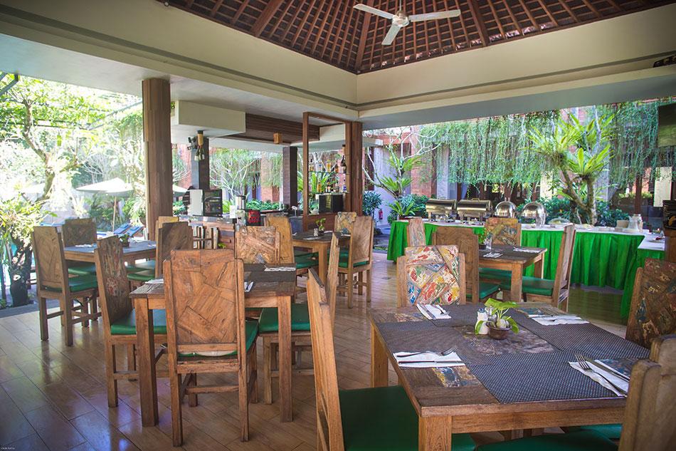 デ・ブラカン・ブティックリゾート レストラン