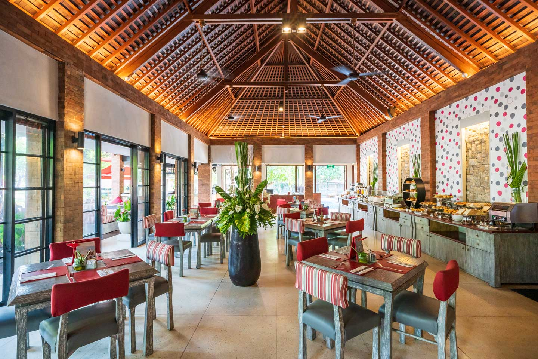 クタシービュー・ブティック・リゾート&スパ レストラン