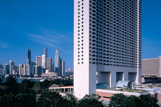 ザ・リッツカールトンミレニアシンガポール 外観