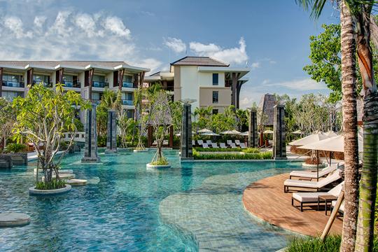 ソフィテル・バリ・ヌサドゥアビーチ・リゾート メインプール