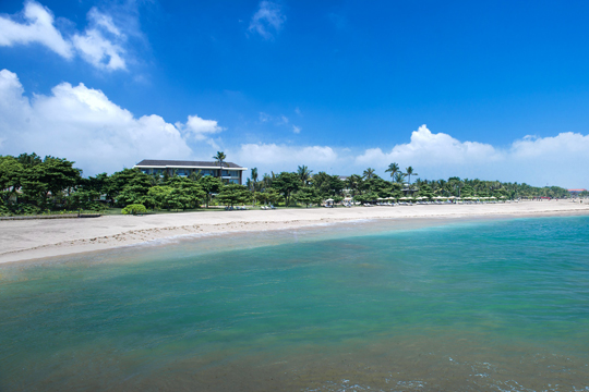 ソフィテル・バリ・ヌサドゥアビーチ・リゾート ビーチ