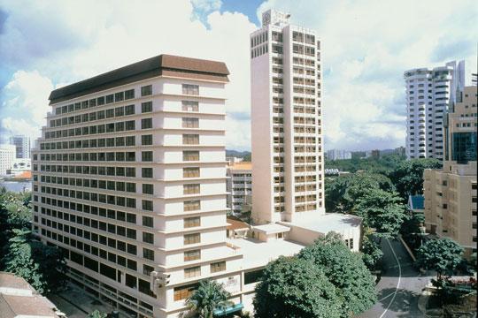 ヨーク・ホテル・シンガポール 外観