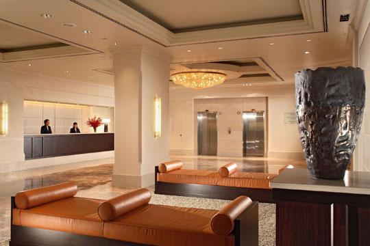 ヨーク・ホテル・シンガポール ロビー