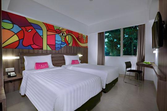 フェイブホテル ・クタ・カルティカプラザ スーペリアルーム(旧スタンダードルーム)