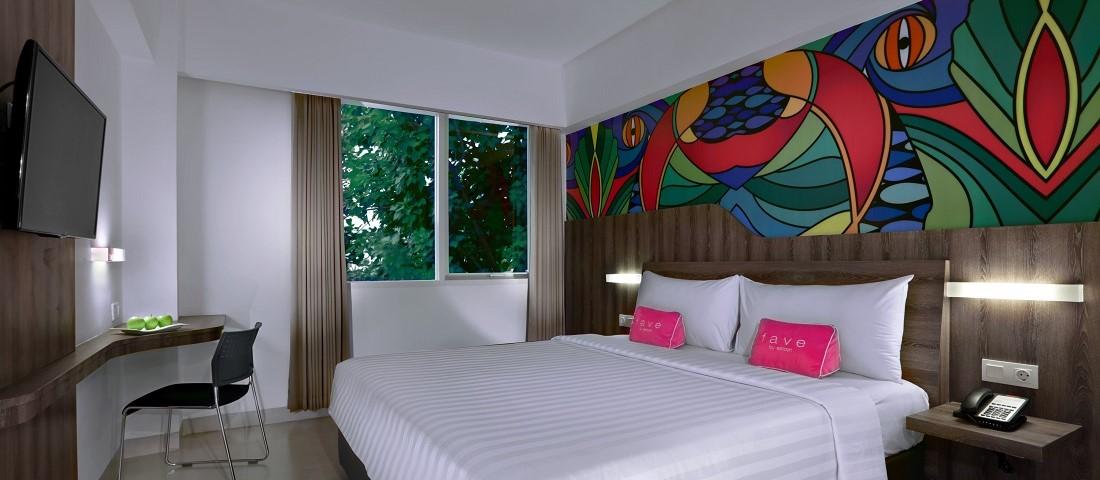 フェイブホテル ・クタ・カルティカプラザ スーペリアルーム