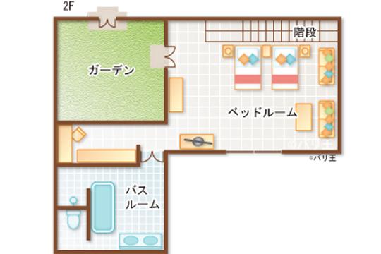 ロイヤルピタマハ 2ベッドルームデラックスプールヴィラ2階