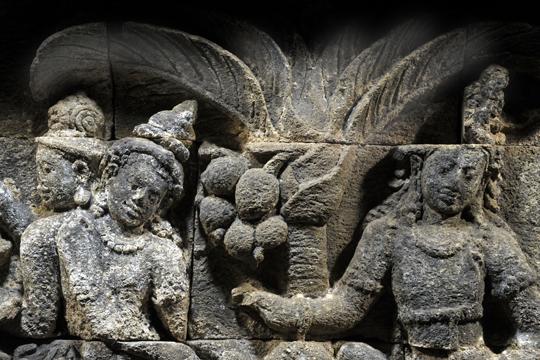 ボロブドール遺跡